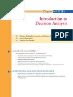 Intro to Decision Analysis