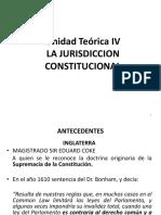Unidad Teórica IV - Jurisdicción Constitucional - 2018