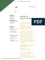 Jerarquía de Operaciones Básicas - Guia EXANI-II