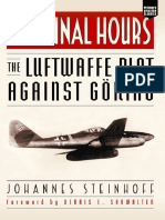 The Final Hours - The Luftwaffe Plot Against Goring (Aviation Classics)