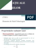 c7. Aplicaţii Ale Laserilor