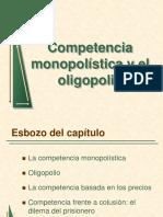 Competencia Monopolística y El Oligopolio