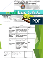 Cuadro de Resumen NONILAC S.a.C