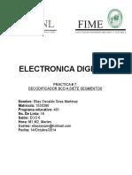 Electronica Digital 1 Practica 7