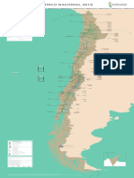 Mapa Coordinador Eléctrico Nacional 31 Diciembre 2017