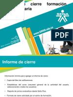 Informe de Cierre Formacion Complementaria n1