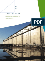 Service Floating Dock Facilities
