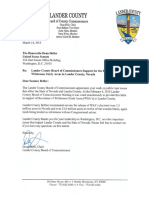 WSA Letter of Support- Lander County- 2018