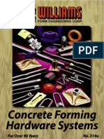 Concrete Forming Hardware
