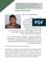 Haji Dan Sikap Beribadah _ Tebuireng Online