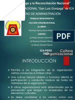 Clase 6 Cultura Organizacional
