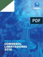Reglamento Conmebol Libertadores 2018 Espanol