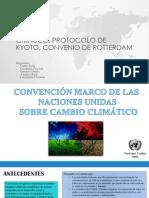 Presentacion Cmnucc;Kioto;Rotterdam