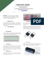 Amplificador proyecto