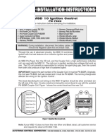 MSD 7500 Installation instructions