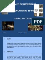 Ensayo a La Chispa Lab 04