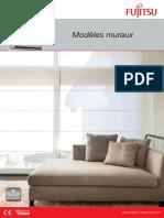 Modeles Muraux Fujistu - pompe à chaleur FR