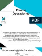 Plan de Operaciones