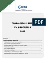 AFAC Informe Parque Circulante 2017
