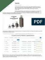 Criptodivisas y Capitalización