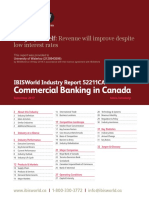 52211CA Commercial Banking in Canada Industry Report