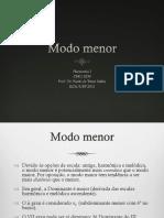 Modo Menor (2015)