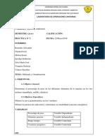Informe Molienda Granulometria..Final