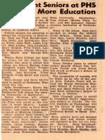PHS classmates 1968 to Schools