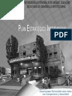 U.a.J.M.S. Plan Estratégico Institucional 2017 2020