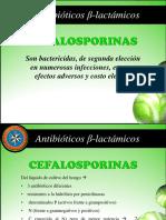 IIIP - Clase 3 - Cefalosporinas