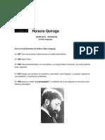 Biografía de Horacio Quiroga