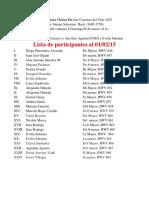El Clave Bien Temperado - Lista Al 01-02-15