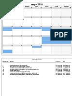 calendario recursos