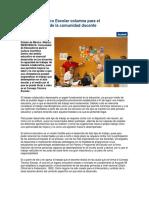 l Consejo Técnico Escolar Columna Para El Fortalecimiento de La Comunidad Docente