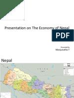 Presentation  on Nepal economy