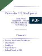 EJB Patterns Slides
