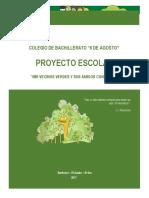 Proyecto Escolar Identificación de Arboles Nativos y Aves