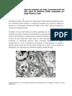 La Técnica de Impregnación Argéntica de Golgi. Conmemoración Del Centenario Del Premio Nobel de Medicina (1906) Compartido Por Camillo Golgi y Santiago Ramón y Cajal