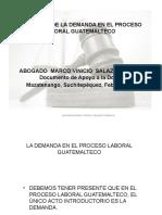 Requisitos de La Demanda Ordinaria Oral Laboral