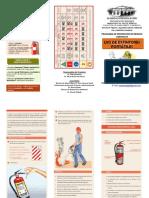 Folleto de Extintores Portátiles-jornadas MAYO