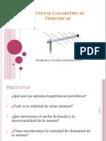Antenas Logarítmica Periódicas