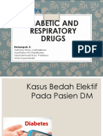 5-Diabetic and Respiratory Drug