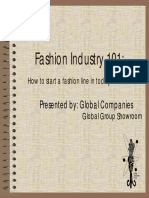 How to Start a Fashion Line in Todays Market