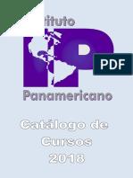 IPAN_Catálogo de Cursos 2018