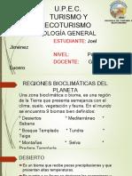 REGIONES BIOCLIMATICAS