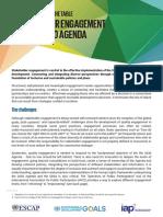 Stakeholder Engagement Indicator Framework Brochure