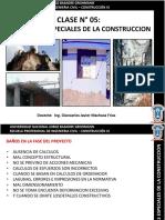 Clase 05 Construccion III