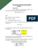 Pronóstico de Mercado Eléctrico Huambara