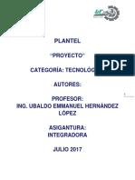 Plantilla Para Proyecto Actual