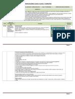 Planificación Diaria Unidad 2 Historia 5º Básico